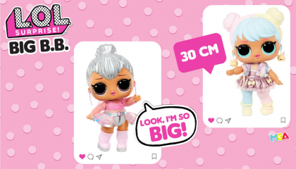 Новинки L.O.L. Surprise! серии Big B.B.Doll уже в Чудо Остров!