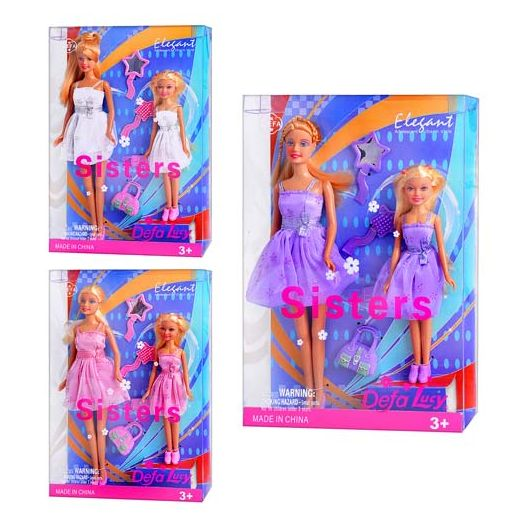 Лялька DEFA Сестри в асорт. (8126)купити