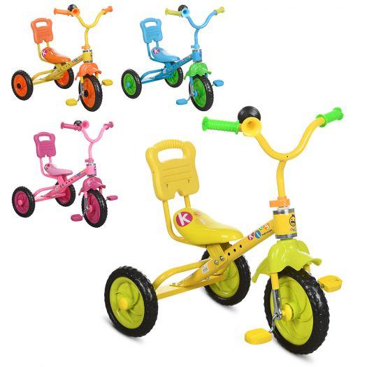 Велосипед триколісний Bambi в асортименті (M 1190)купити