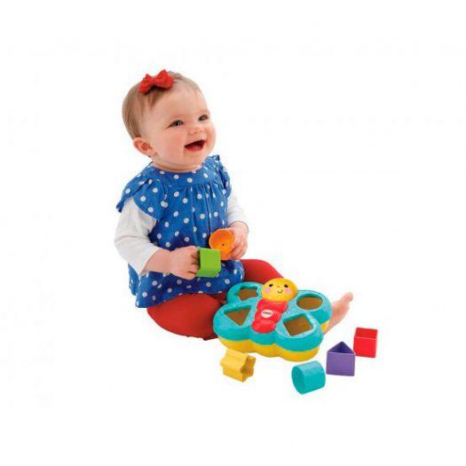Іграшка-сортер Fisher-Price Метелик (CDC22)купити
