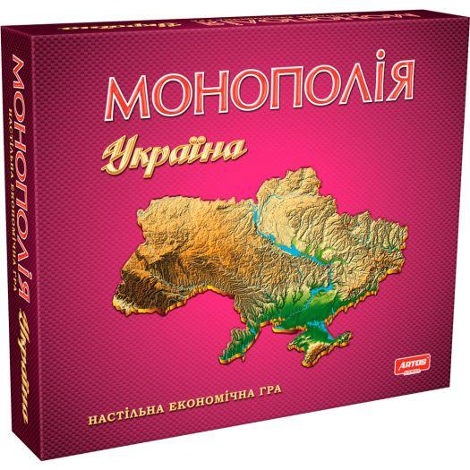 Гра настільна Artos Games Монополія Україна (4820130620734)в Україні