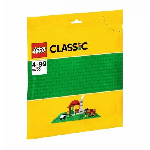 Конструктор LEGO Classic Базова зелена пластина (10700)замовити