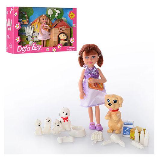 Лялька DEFA з цуценятами в асорт. (8281)замовити