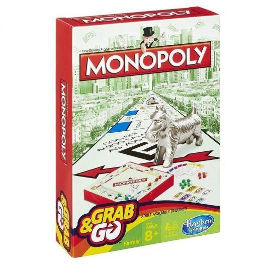 Гра настільна дорожня Hasbro Gaming Монополія (B1002)в Україні