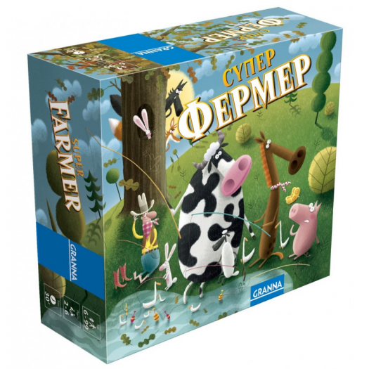 Гра настільна Granna Суперфермер міні-версія (81862)замовити