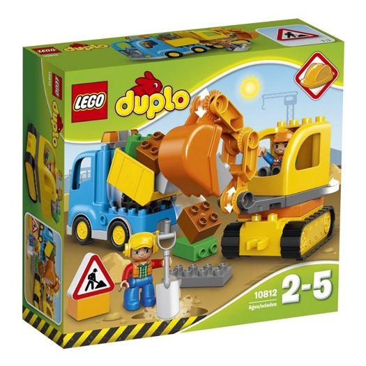 Конструктор LEGO Duplo Вантажівка і гусеничний екскаватор (10812)в Україні