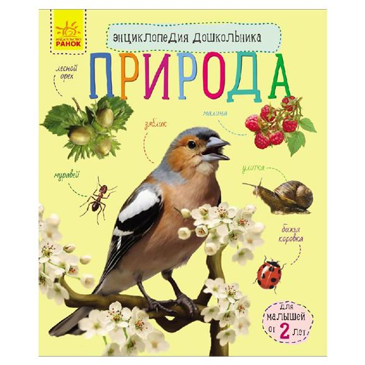 Енциклопедія дошкільника (нова): Природа (254729)замовити