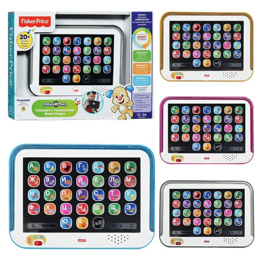 Інтерактивна іграшка Fisher-price Розумний планшет технологія Smart Stages (рос) (DHY54)купити