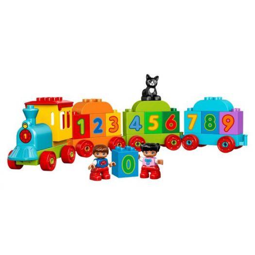 Конструктор LEGO Duplo Потяг із цифрами (10847)замовити