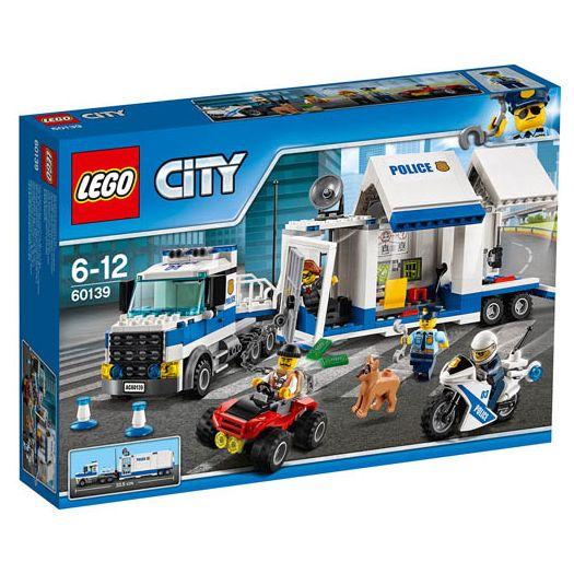Конструктор LEGO City Мобільний командний центр (60139)замовити