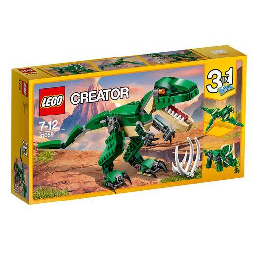 Конструктор LEGO Creator Могутні Динозаври (31058) в Україні