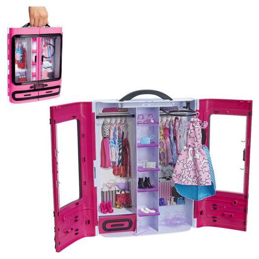 Ігровий набір Barbie Шафа-валіза для одягу (DMT57)в Україні