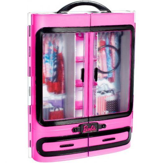 Ігровий набір Barbie Шафа-валіза для одягу (DMT57)замовити
