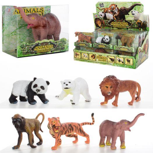Фігурки Animal Model Дикі тваринки в асорт. (Q9899-185)купити