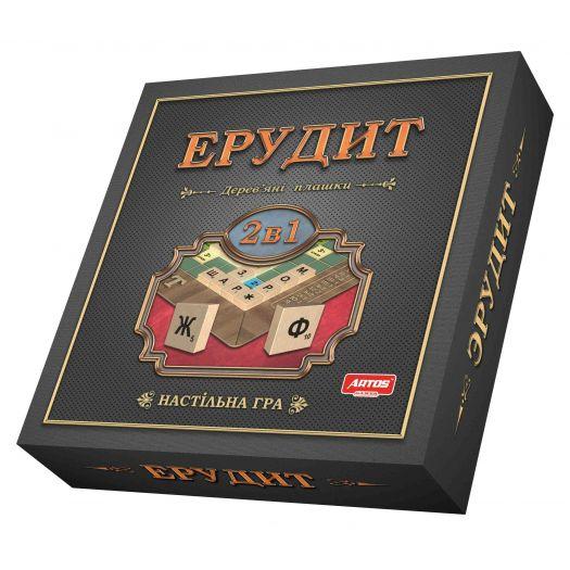 Гра настільна Artos Games 2в1 Ерудит Ost (4820130620987)замовити