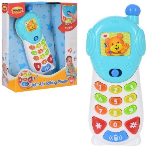 Іграшковий телефон WinFun (0619-NL)в Україні