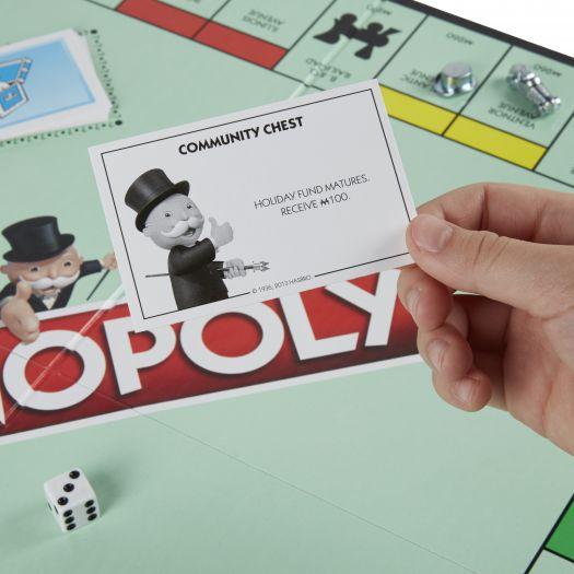 Гра настільна Hasbro Gaming Класична Монополія українська версія (C1009)замовити