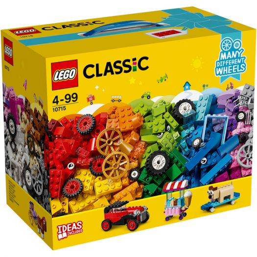 Конструктор LEGO Classic Кубики і колеса (10715)купити
