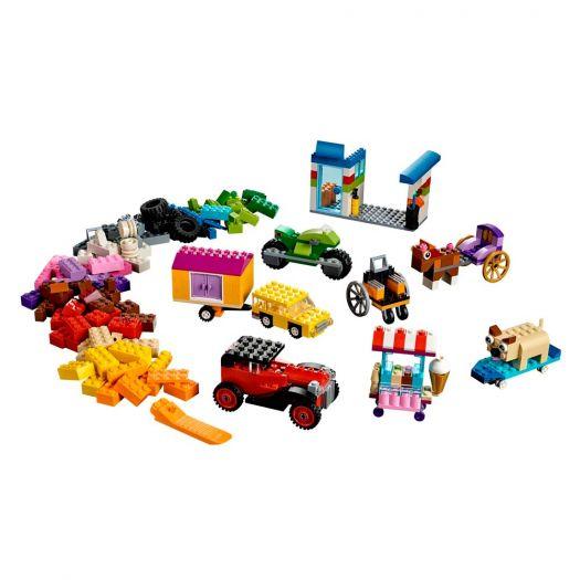 Конструктор LEGO Classic Кубики і колеса (10715)замовити