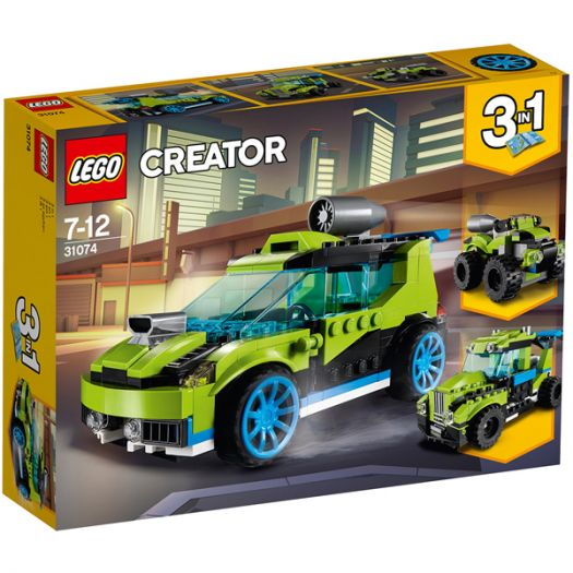 Конструктор LEGO Creator Гоночний автомобіль Ракета (31074)купити