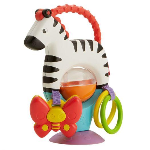 Іграшка на присосці Fisher-Price Зебра (FGJ11)в Україні