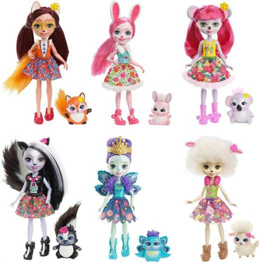 Лялька  Enchantimals Головні героїні в ас. (DVH87)купити