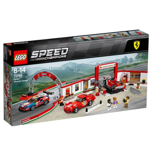 Конструктор LEGO Speed Champions Унікальний Гараж Ferrari (75889)купити
