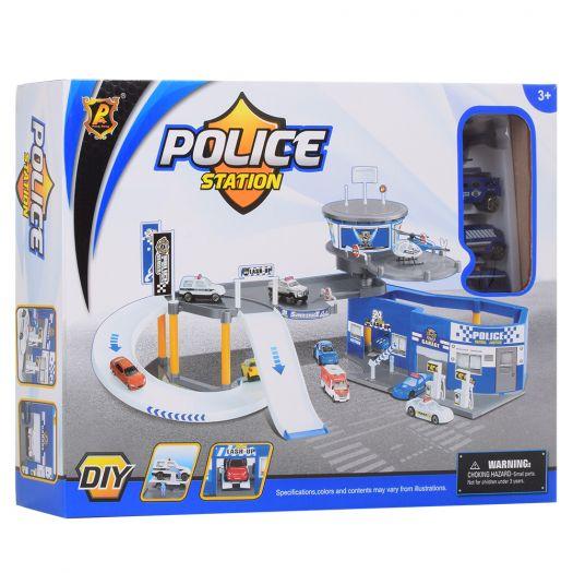 Ігровий набір паркінг Racing Поліцейська дільниця (P819-A)купити