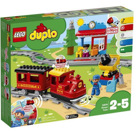 Конструктор LEGO Duplo Town Паровоз (10874)в Україні