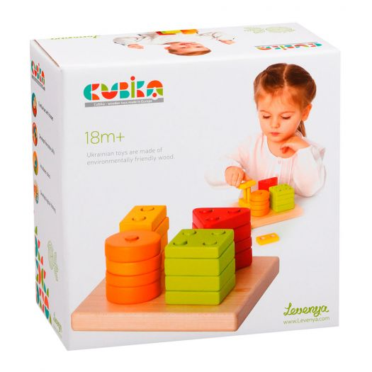Іграшка-сортер Cubika Геометрична дерев'яна (13791)замовити