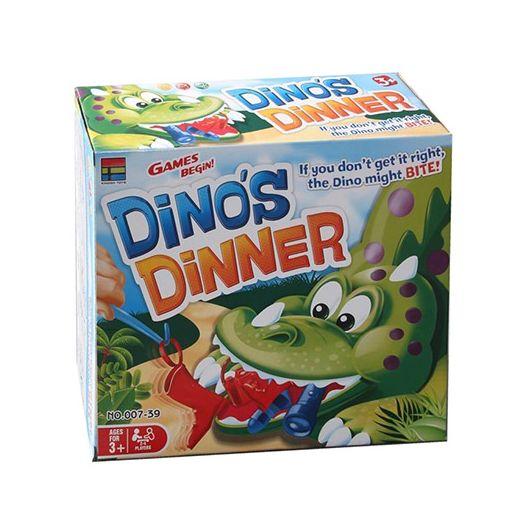 Настільна гра Kingso Toys Обід динозавра (007-39)в Україні