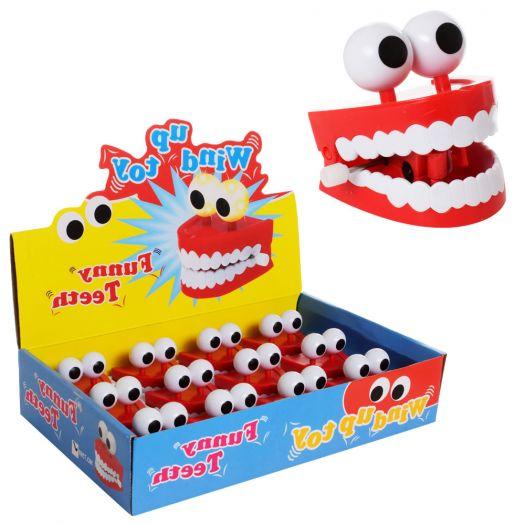 Заводна іграшка Funny teeth щелепа (T15-74)купити