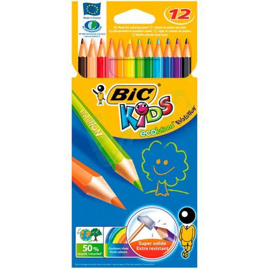 Олівці кольорові KIDS EVOLUTION 12 шт. (21043499)замовити