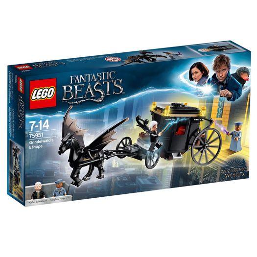 Конструктор LEGO Harry Potter Втеча Грін-де-Вальда (75951)замовити