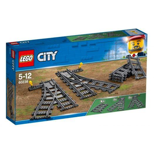 Конструктор LEGO City Стрілочний перевід (60238)купити