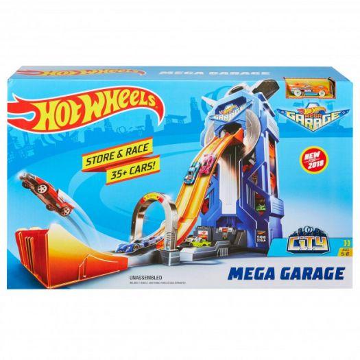 Ігровий набір паркінг Hot Wheels Мега Гараж (FTB68)купити