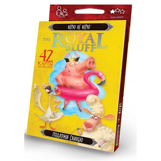 Карткова гра Danko Toys The Royal Bluff (RBL-01-02)замовити