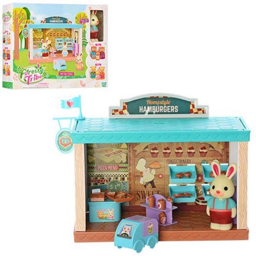 Ляльковий будиночок Forest Tride з меблями і фігуркою збірний (60231)купити