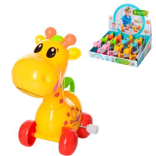 Заводна іграшка Wind-up toys жираф, 6 кольорів (632)купити
