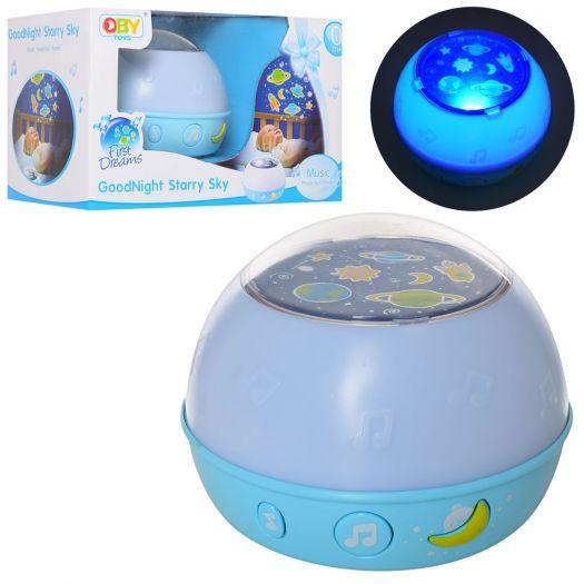 Нічник з проектором Baby Toys (O-1833B)купити