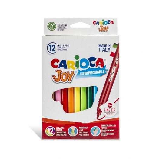 Фломастери Carioca JOY двокольорові (40614)купити