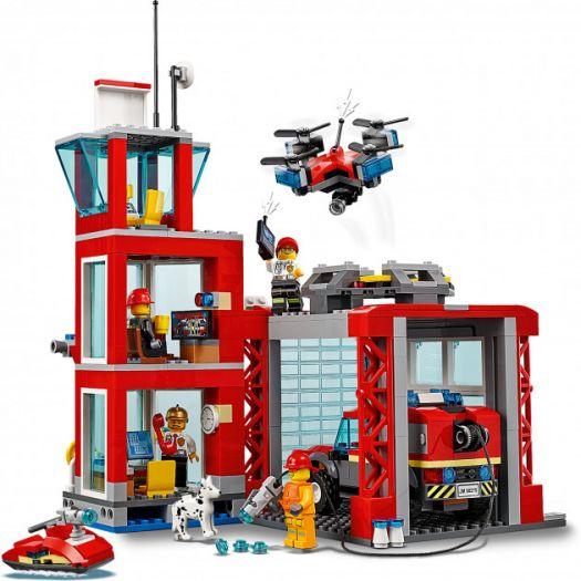 Конструктор LEGO City Пожежне депо (60215)купити