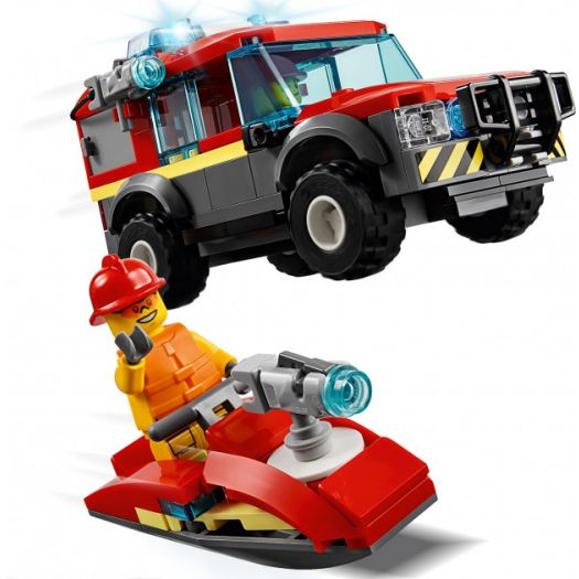 Конструктор LEGO City Пожежне депо (60215)замовити
