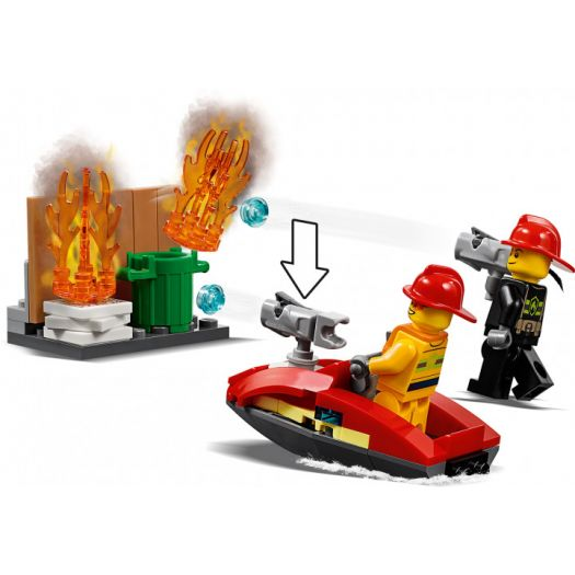 Конструктор LEGO City Пожежне депо (60215)в Україні