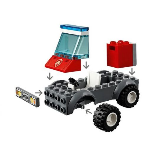 Конструктор LEGO City Пожежа на пікніку (60212)замовити