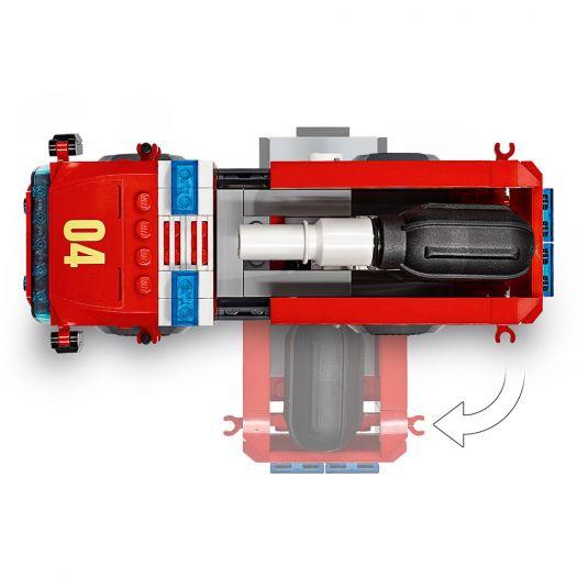 Конструктор LEGO City Пожежа в бургер-барі (60214)замовити