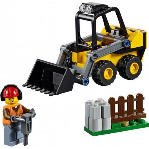 Конструктор LEGO City Будівельний навантажувач (60219)в Україні