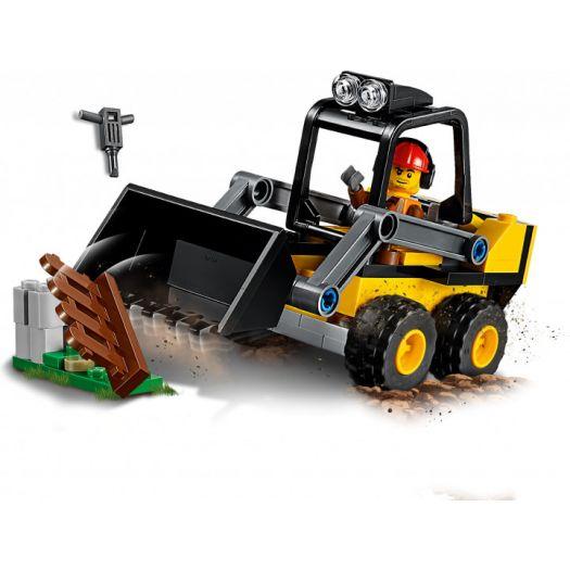 Конструктор LEGO City Будівельний навантажувач (60219)купити