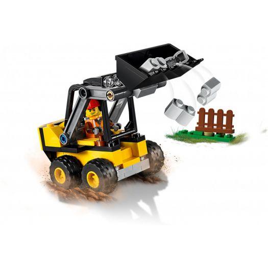 Конструктор LEGO City Будівельний навантажувач (60219)замовити