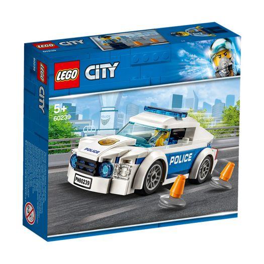 Конструктор LEGO City Поліцейське патрульне авто (60239)купити